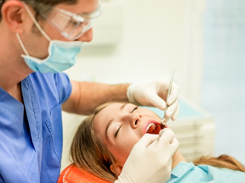 Types of dental infections